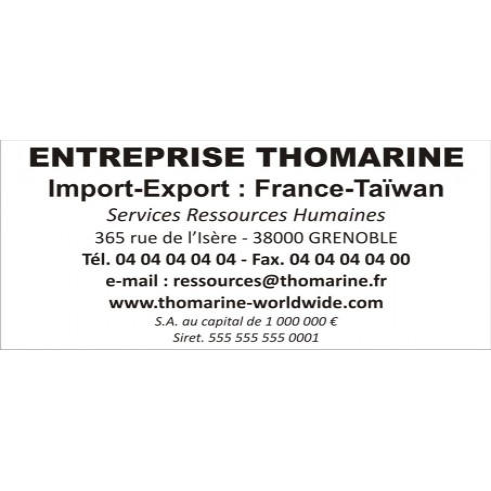 Timbre Tampon Trodat Metal Line 5208