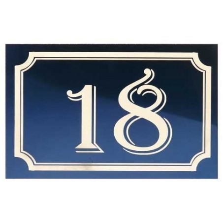 Numéro de Rue Aluminium