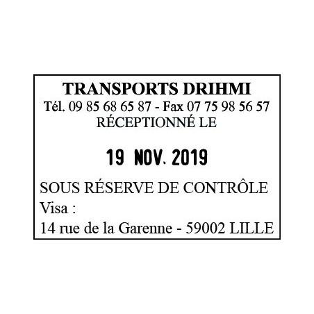 Timbre Dateur Trodat Metal Line 5470