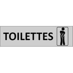 Plaque de porte Toilettes Hommes