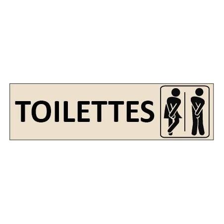 Gravure Toilettes Mixte