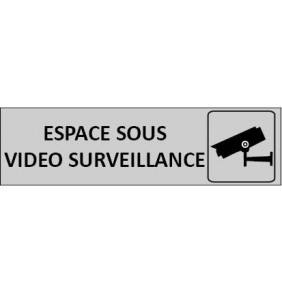 Plaque de Porte video surveillance