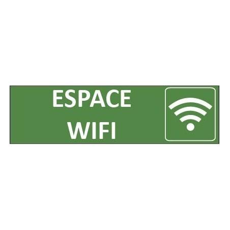 Signalétique Espace Wifi