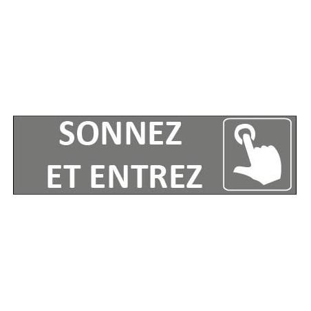Signalétique Sonnez et Entrez