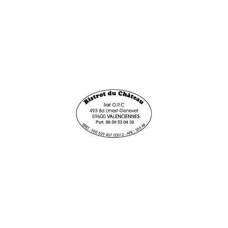 Tampon Trodat Printy 44055 ovale