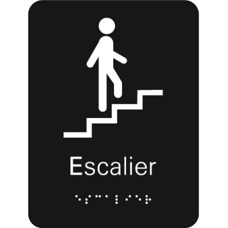 Plaque signalétique Escalier
