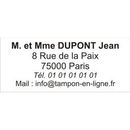 Timbre Tampon Trodat Metal Line 5200