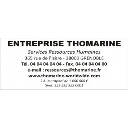 Timbre Tampon Trodat Metal Line 5206