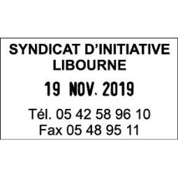 Timbre Dateur Trodat Metal Line 5440