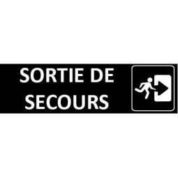 Signalétique Sortie de Secours