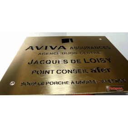 GRAVURE LAITON 20x15cm