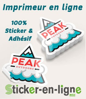 Impression Sticker en Ligne